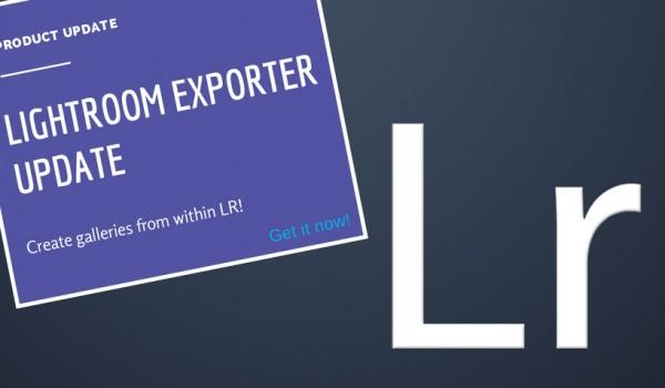 Lightroom Exporter Update