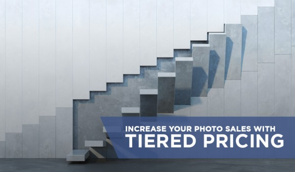 Increase your photo sales with Tiered Pricing