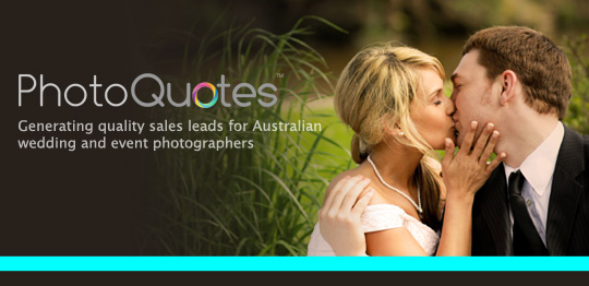 Announcing PhotoQuotes            more profitable we     d like to tell you about a new service we have created specifically for the Australian photography market  www photoquotes com au