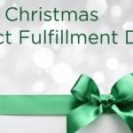 christmas 2015 fulfilment dates
